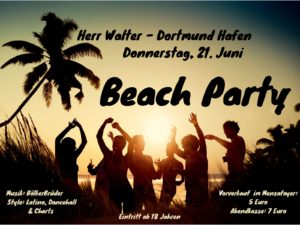 Beachparty DO-Hafen @ Herr Walter